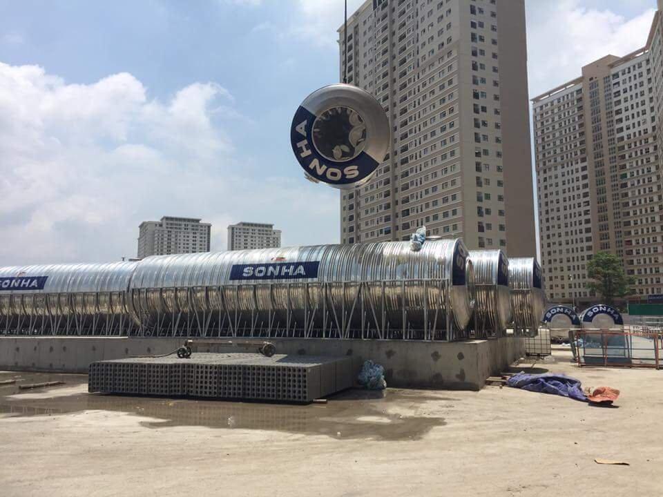 CTy Sơn Hà ✓Máy năng lượng thái dương ✓bồn nước