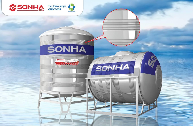 CTy Sơn Hà SG. bồn nước inox, nhựa, máy năng lượng