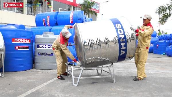 Tập đoàn Sơn Hà – đơn vị cung cấp bồn nước inox công nghiệp hàng đầu Việt Nam