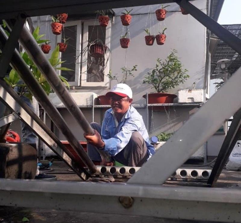 Sửa máy nước nóng năng lượng mặt trời khi có sự cố