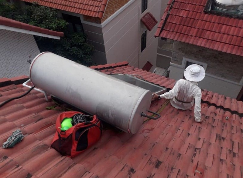 Sửa máy năng lượng mặt trời